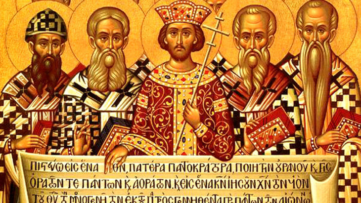 The Creed of Nicea – 325 A.D.